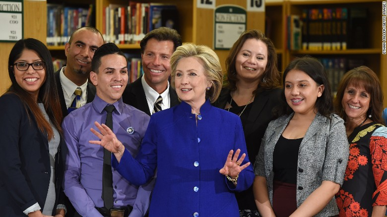 Hilary and Clinton's immigration reforms